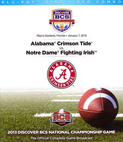 2013 DISCOVER BCS NATIONAL CHAMPIONSH (Blu-Ray)